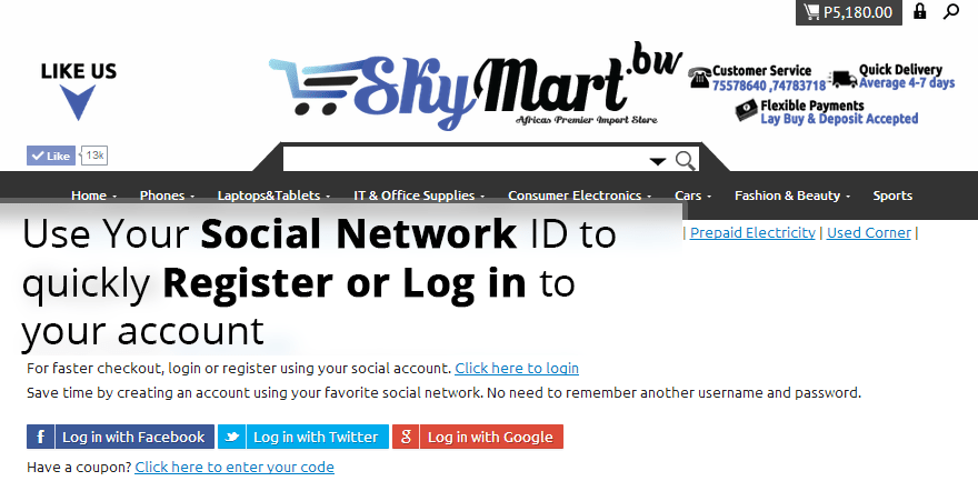 Step 6 Social Login copy