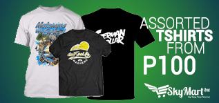 assorted tshirts