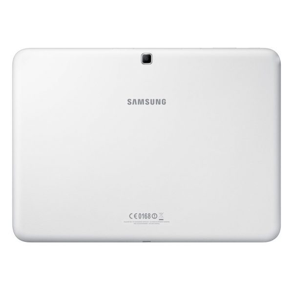 Samsung Galaxy Tab 4 10.1 white back
