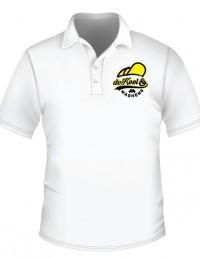 De Kool & Magheng white Golf T Shirt