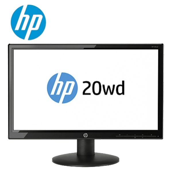 HP 20wd 19.5 Inch Diagonal LED Backlit Monitor F4Z63AS (HP Warranty)