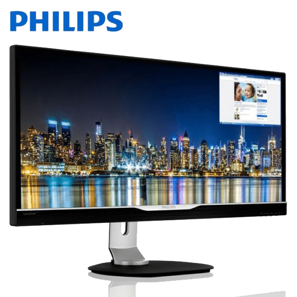 PHILIPS 298P4QJEB P-LINE 29 inch Monitor (Philips Warranty)