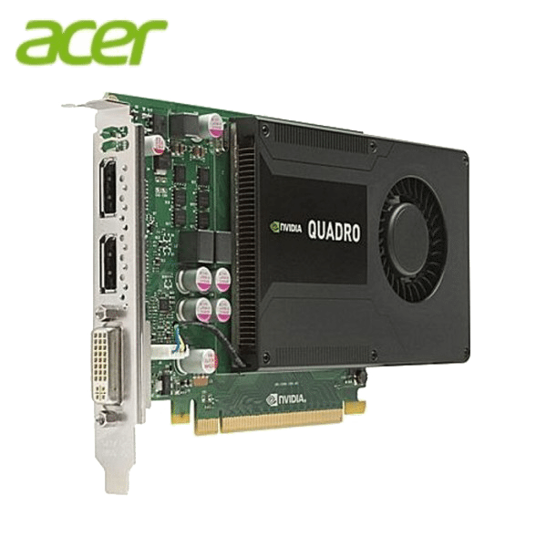 Acer NVIDIA Quadro K2000 2GB GDDR5 128 bit UEFI With DVI-I / DP / DP Output