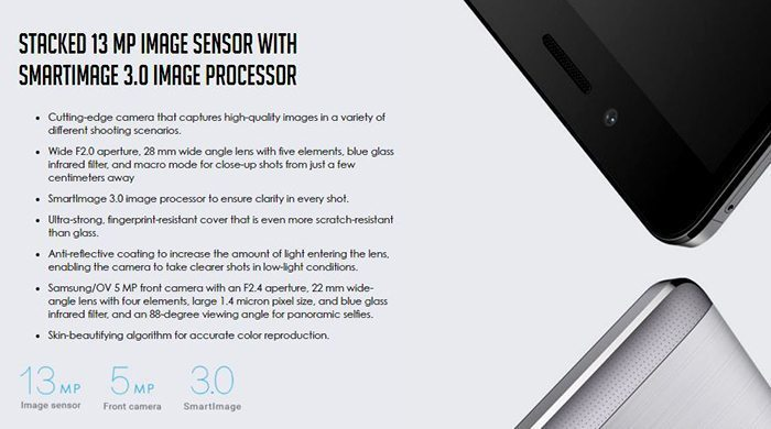 Huawei Honor 5X Sunset Gold