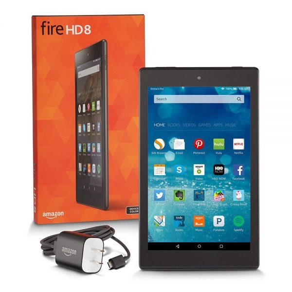 "Fire HD 8, 8"" HD Display, Wi-Fi, 8 GB"