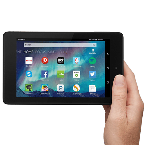 "Fire HD 6, 6"" HD Display, Wi-Fi, 8 GB"