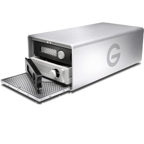 G-Technology G-RAID with Thunderbolt Removable Dual Drive Storage System 16TB