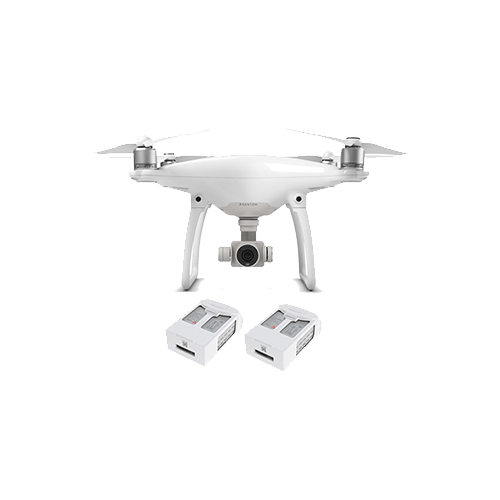 Phantom 4 with Two Extra Batteries