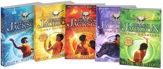 Buy online Percy Jackson: Complete Series Box Set at low price ...