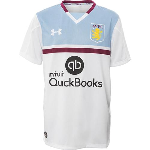 new styles 6dca9 bbaf5 Aston Villa 16/17 Genuine Away Football Jersey