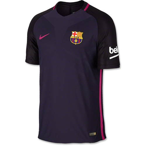 Barcelona 16/17 Authentic Away Soccer Jersey