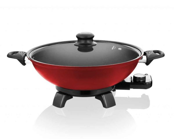 Red Bangkok Electric Wok