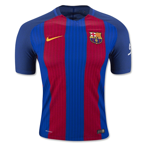 Buy a low cost Barcelona 16 17 Home Soccer Jersey from SkymartBw ... 92bee5ca9