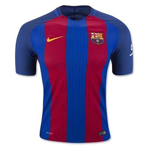 new concept 5eb52 267d2 Barcelona 16/17 Replica Home Football Jersey