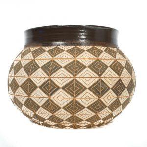 Basket design vase