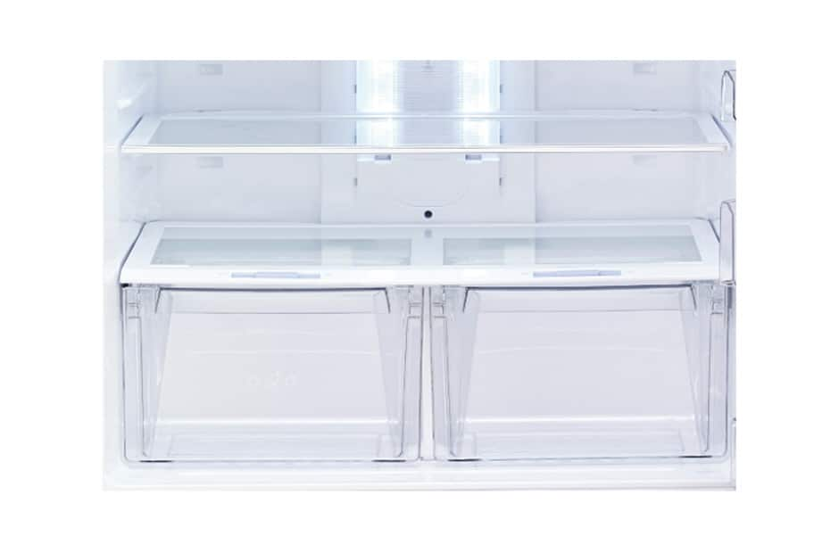 LG 480L Top Freezer Shiny Steel LGEGNB602HLPL