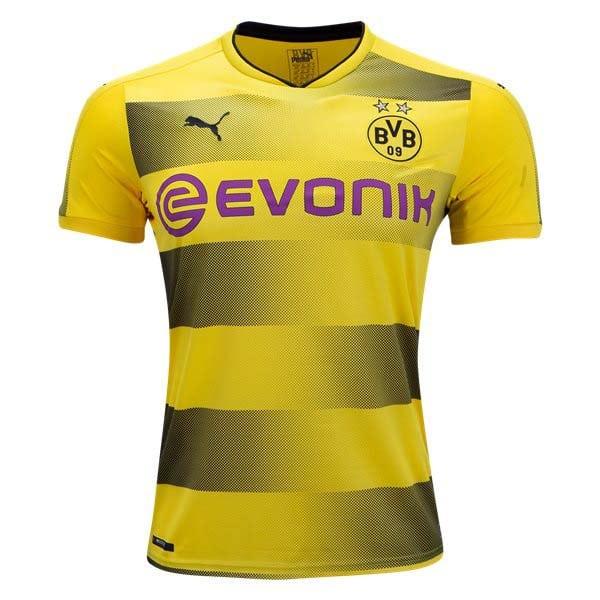 14ab7ff7 Buy online Borussia Dortmund 17/18 Replica Home Football Jersey at ...