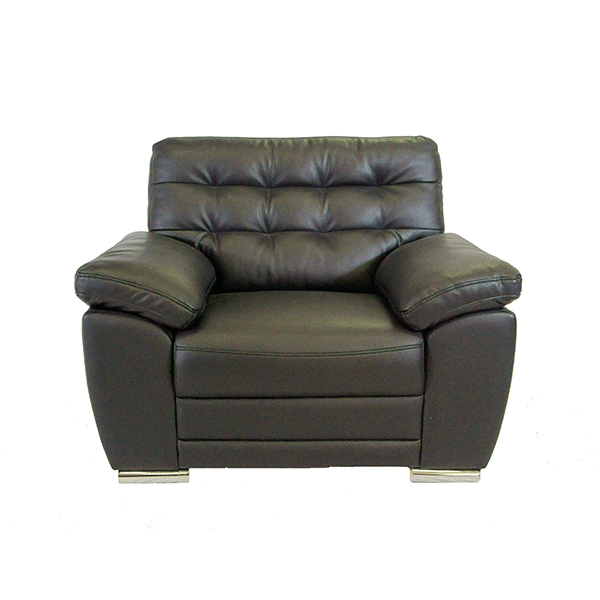 Black Single Seater Couch