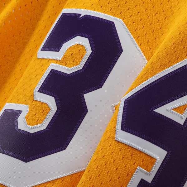 ... Men s Los Angeles Lakers Shaquille O Neal Mitchell   Ness Gold 1996-97  Hardwood ... 378a7ac4d