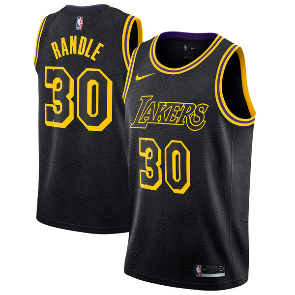 373f3735fd14 ... closeout mens los angeles lakers julius randle nike black swingman  jersey city edition a1fce 839ca