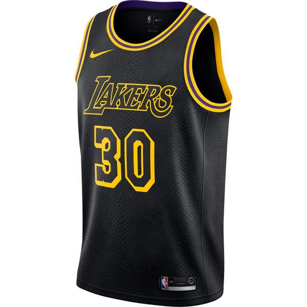45270edc5241 ... Men s Los Angeles Lakers Julius Randle Nike Black Swingman Jersey - City  Edition ...