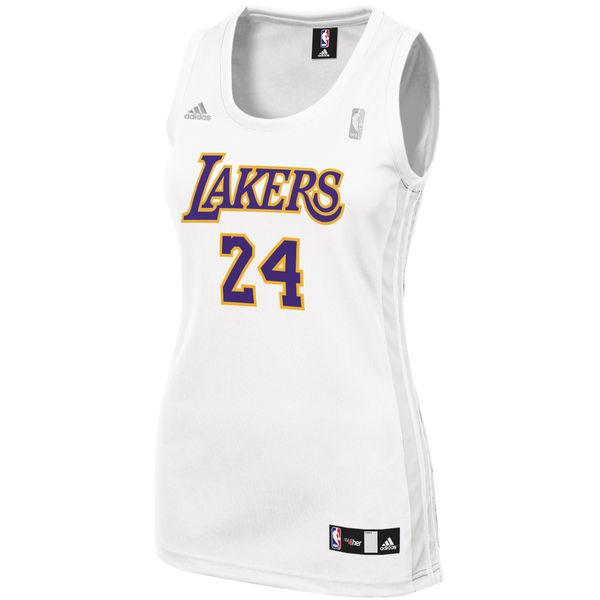 ... Women s Los Angeles Lakers Kobe Bryant adidas White Fashion Replica  Jersey ... d38e2b52e