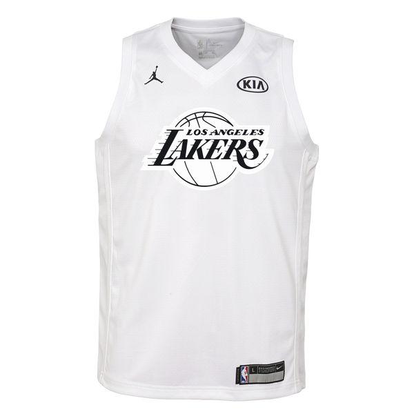 0e8cfa1d4e3 ... Youth Los Angeles Lakers Kobe Bryant Jordan Brand White 2018 All-Star  Game Swingman Player ...