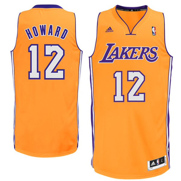 208660f0428 adidas Dwight Howard Los Angeles Lakers Youth Swingman Home Jersey - Gold
