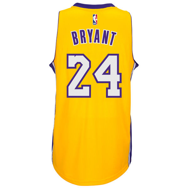 2c20ef61b9d ... Men s Los Angeles Lakers Kobe Bryant adidas Gold Player Swingman Home  Jersey
