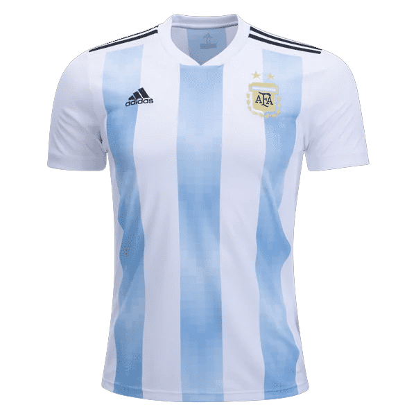 Buy online Argentina 2018 Genuine Home Football Jersey (World Cup ... b377a2fb9