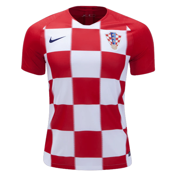 lowest price b48db 392c7 Croatia 2018 Genuine Home Football Jersey (World Cup 2018)