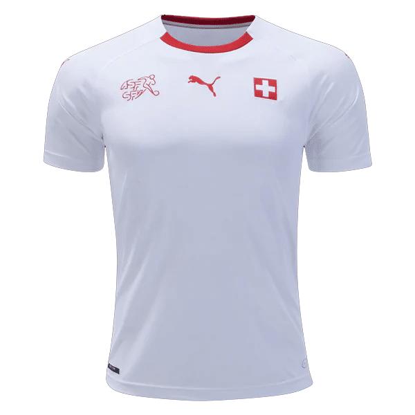 official photos f817d 49a34 Switzerland 2018 Genuine Away Football Jersey (World Cup 2018)