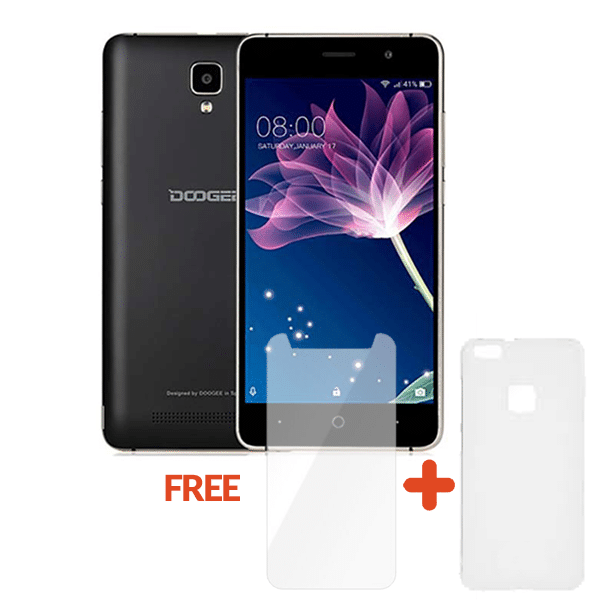 Doogee X10 3G with Free Cover & Tempered Glass