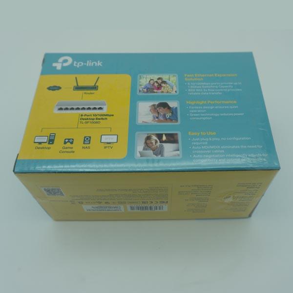 TP link 8 port 10/100mbps Desktop Switch
