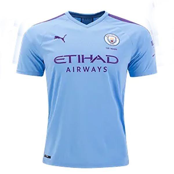 detailed look cc9e6 0f22b Manchester City 19/20 Replica Home Football Jersey